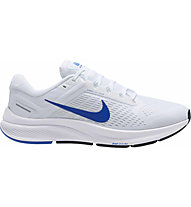 Nike Air Zoom Structure 24 - scarpe running stabili - uomo, White/Blue