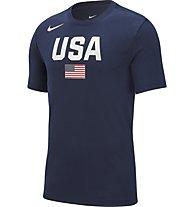 Nike USAB Nike Dri-FIT - Basketball T-Shirt - Herren, Dark Blue