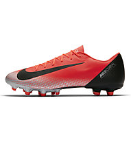 Nike Vapor 12 Academy CR7 Multiground - scarpe da calcio terreni misti, Orange/Black