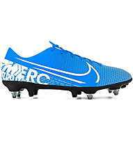 Nike Vapor 13 Academy SG-PRO AC - scarpe da calcio terreni morbidi, Light Blue