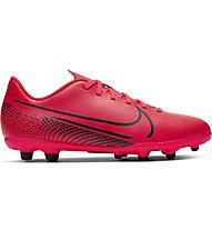 Nike Vapor 13 Club FG/MG - Fußballschuhe für feste Böden -- Kinder, Red