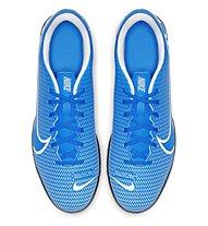 Nike Vapor 13 CLUB TF - Fußballschuhe Hartplatz - Herren, Light Blue