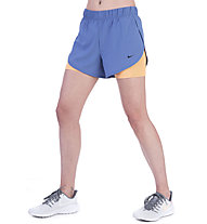 Nike 2-in-1 Training - pantaloni fitness - donna, Blue/Orange