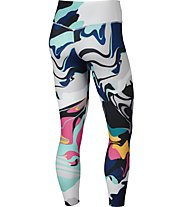 Nike W 7/8 Training Tights - Trainingshose - Damen, Blue/White