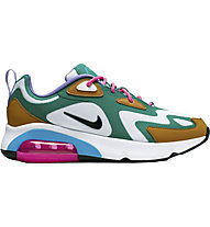 Nike Air Max 200 - Sneaker - Damen, White/Green/Pink