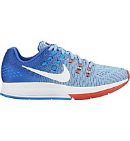 Nike Women's Air Zoom Structure 19 - Damen-Laufschuhe, Blue/Red