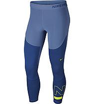 Nike Women's Crops - Trainingshose - Damen, Blue