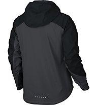 Nike Shield Zoned - Laufjacke - Damen, Black