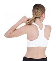 Nike Air Swoosh Women's Medium Support - Sport BH mittlere Stützung - Damen, White