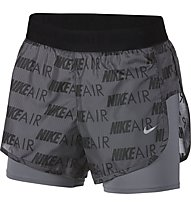Nike Air Women's Running Shorts - Laufhose kurz - Damen, Grey