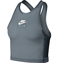 Nike Air Miler Tank Crop - Lauftop - Damen, Grey