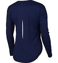 Nike City Sleek - maglia running a maniche lunghe - donna, Blue