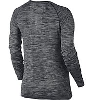Nike Dri-FIT Knit W - langärmliges Runningshirt - Damen, Black