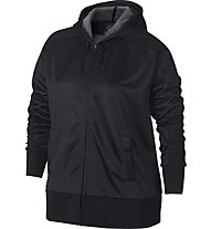 Nike Dry Hoodie Full Zip Shimmer - Kapuzenjacke - Damen, Black