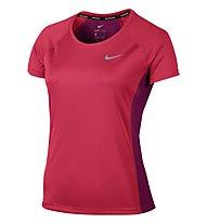 Nike Dry Miler - Laufshirt Kurzarm - Damen, Pink