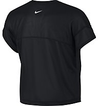 Nike Dri-FIT Training - T-shirt fitness - donna, Black