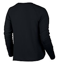 Nike Dry Training Top - felpa donna, Black