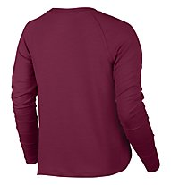 Nike Dry Training Top - felpa donna, Red