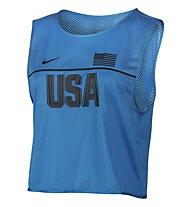 Nike Dry Top Energy Kenia Lauftoberteil Damen, Blue