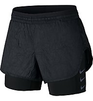 Nike Elevate 2in1 Short W - Laufhose kurz - Damen, Black