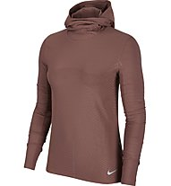 Nike Element - felpa con cappuccio running - donna, Rose