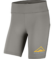 "Nike Fast 7"" Trail Running Shorts - Laufhose kurz - Damen, Grey/Yellow"