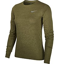 Nike Medalist - maglia a manica lunga running - donna, Green