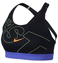 Nike Impact Women's High Support - Sport-BH starker Halt, Black