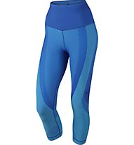 Nike Women's Nike Sculpt Training Capri, Blue