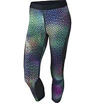 Nike Pro Hypercool - Fitnesshose Capri - Damen, Green/Black