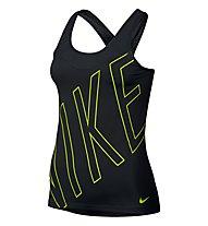 Nike Pro Hypercool Tank Shirt Damen, Black/Volt