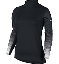 Nike Women's Nike Pro Hyperwarm Top - langärmliges Fitnessshirt für Damen, Black