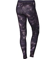 Nike Women Pro Warm Tight - lange Damen-Fitnesshose, Violett