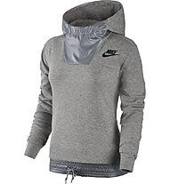 Nike Sportswear Advance 15 Kapuzenpullover Damen, Grey