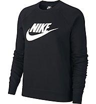 Nike Sportswear Essential Women's Fleece Crew - Sweatshirt - Damen, Black