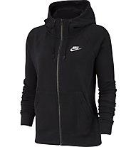 Nike Sportswear Essential Fleece - giacca sportiva - donna, Black