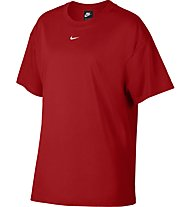 Nike Sportswear Essential Short-Sleeve Top - T-Shirt - Damen, Red