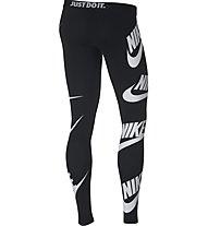Nike Sportswear Leggings - lange Trainingshose - Damen, Black