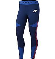 Nike Sportswear NSW Graphic - pantaloni fitness - donna, Blue