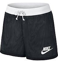 Nike Sportswear - kurze Fitnesshose - Damen, Black