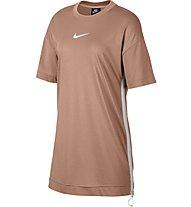 Nike Sportswear Swoosh Women's Dress - T-Shirt-Kleid - Damen, Rose