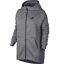 Nike Women's Sportswear Tech Fleece Cape Giacca sportiva fitness donna, Grey