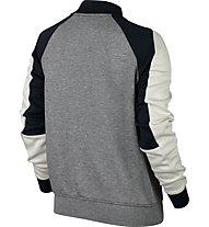 Nike Sportswear Tech Fleece Destroyer W - Fleecejacke - Damen, Grey