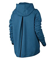 Nike Sportswear Tech Fleece Hoodie - Kapuzenjacke - Damen, Blue