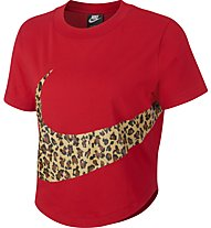 Nike Sportswear Crop - T-shirt - donna, Red
