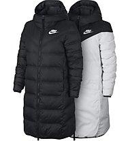 Nike Sportswear Parka Down Fill - Daunenjacke - Damen, Black/White