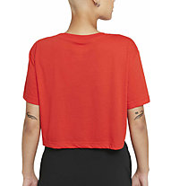 Nike W's Cropped Graphic - T-Shirt - Damen , Red