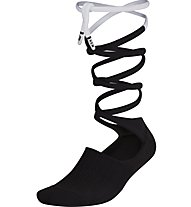 Nike Lace-Up Knee High - calzini fitness - donna, Black/White