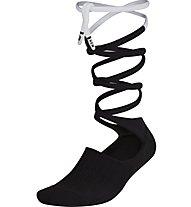 Nike Lace-Up Knee High - Socken - Damen, Black/White