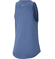 Nike W Training Tank - Top - Damen, Blue